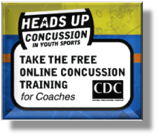 Concussion Cert Training button