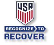 US Soccer R2R Button