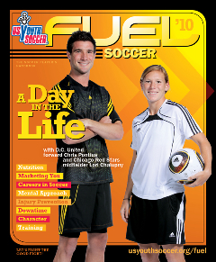 FUEL Soccer Magazine cover