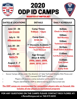 ODP Camp ODP Camp Flyers UPDATED (300)