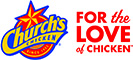 Church's Chicken logo 60x133