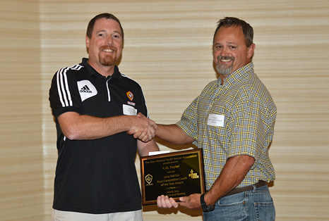 CO Taylor receives NMYSA 2013 CCOTY