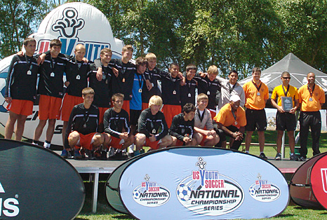 Elite FD U-16 Boys regional finalists