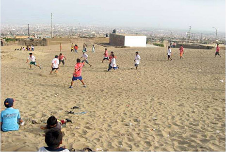 Soccer in Trujillo Peru